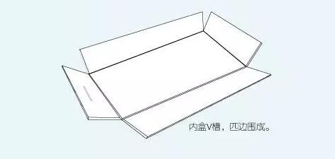 design for paper box with drawer
