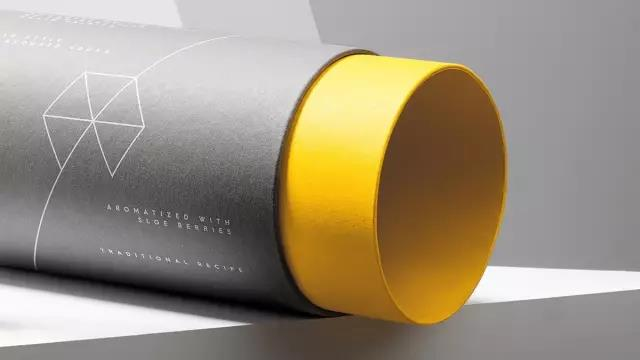 paper packaging cylinder