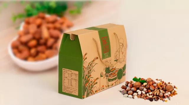 portable paper packaging box