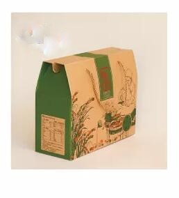 food paper packaging with handle rope
