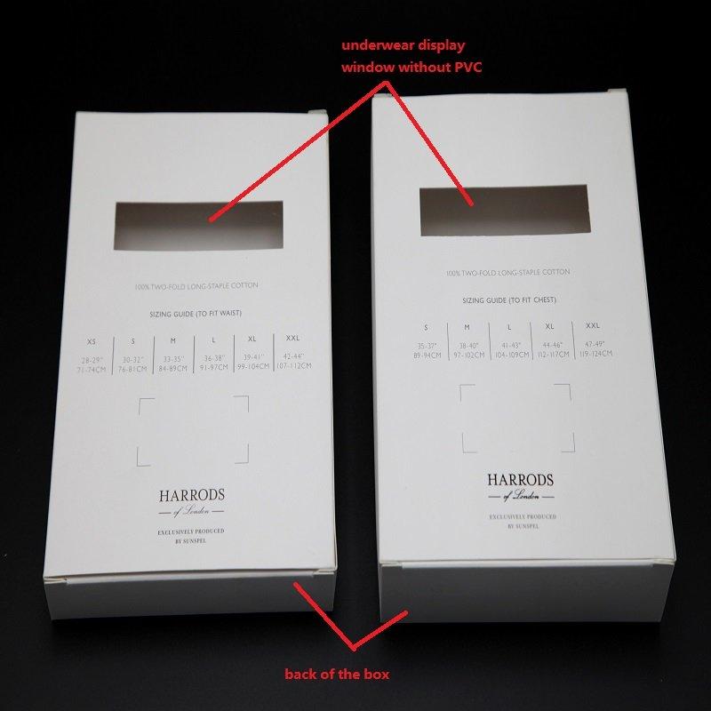 clothing paper box wholesaler