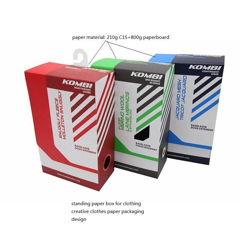 clothes paper box