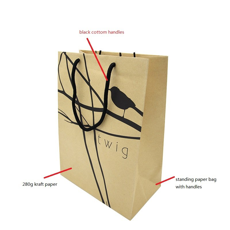 custom printed bags & boxes