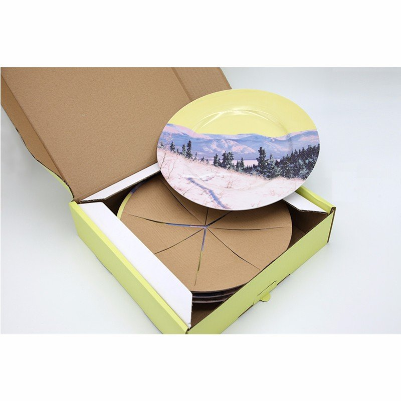 corrugated paper box for kitchen ware