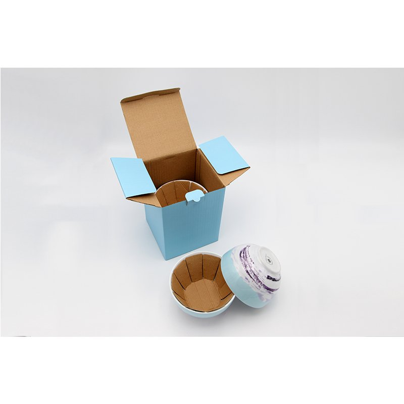 corrugated cardboard box for bowl