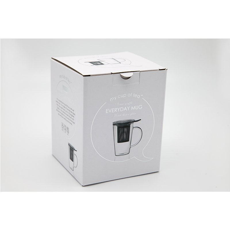 custom corrugated packaging for glass cup