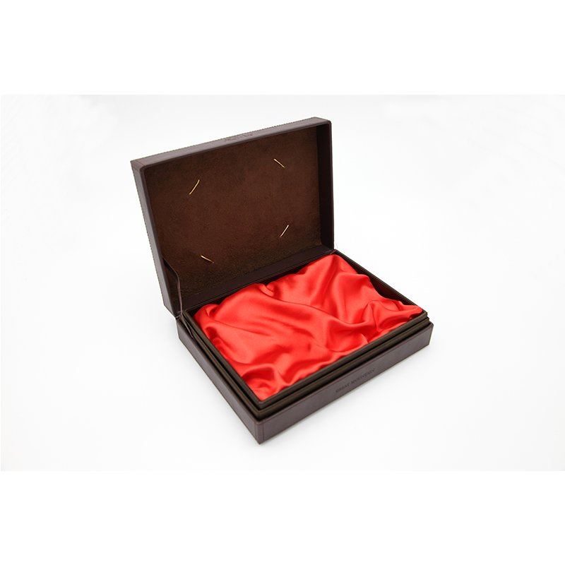 quality leather box for heathy care product