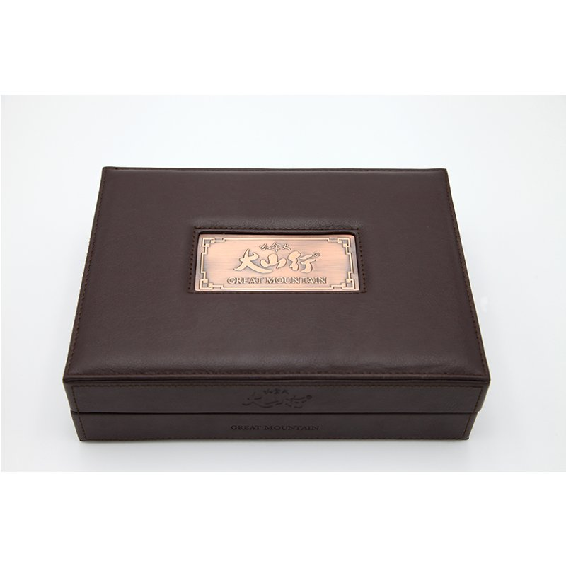 leather packaging box for ginseng