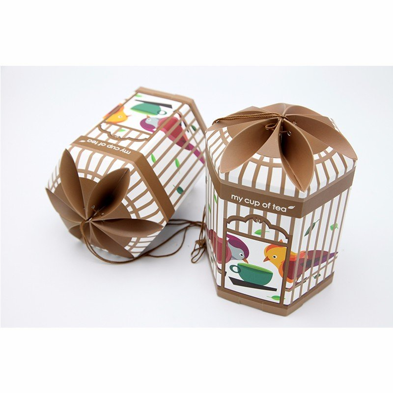 creative tea paper box design