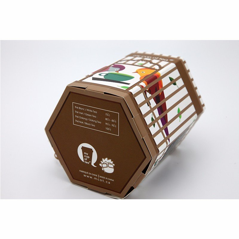 creative tea paper packaging design