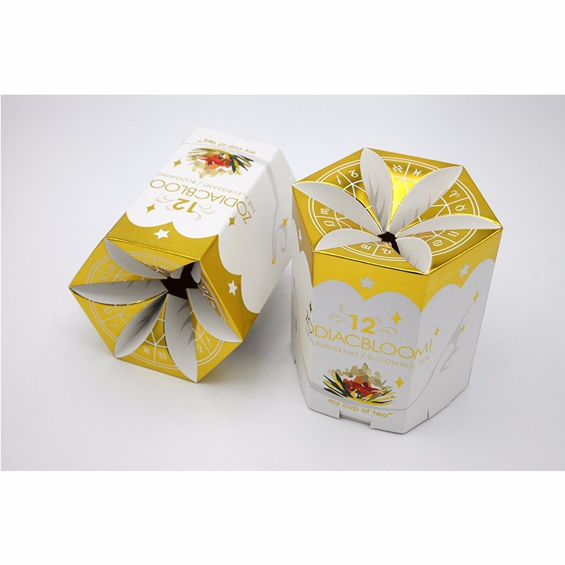 scented tea paper box in birdcage shape