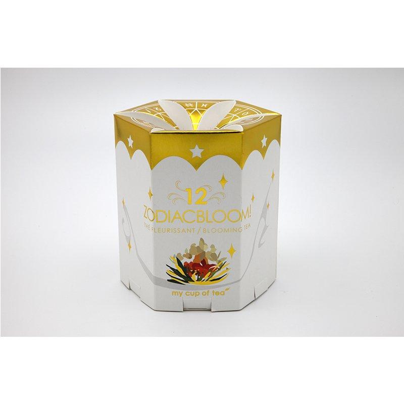 fancy scented tea paper packaging design