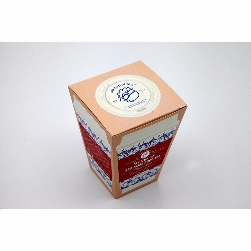 printed paper box for tea