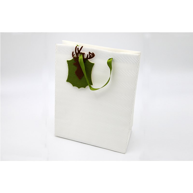 luxury design paper bag for christmas