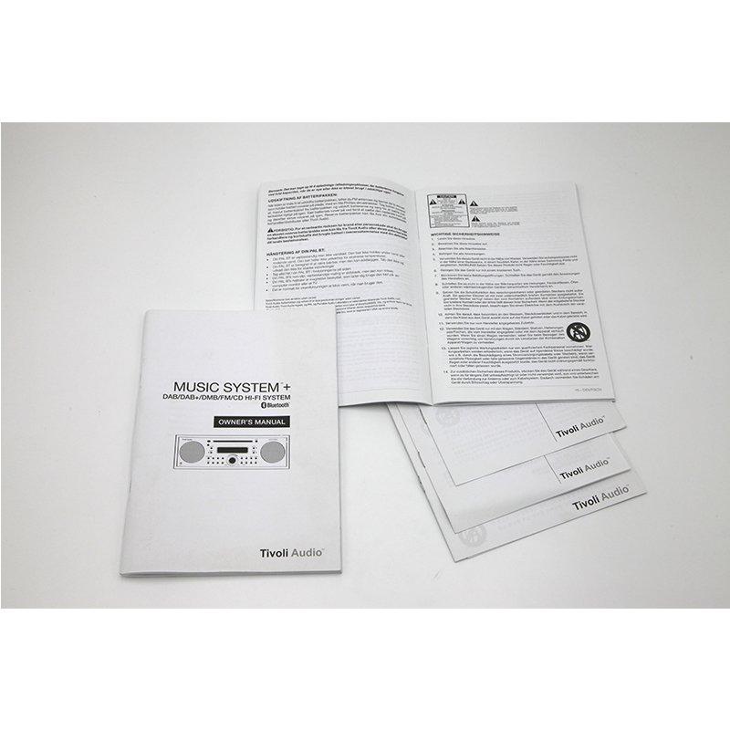 printed product user manual