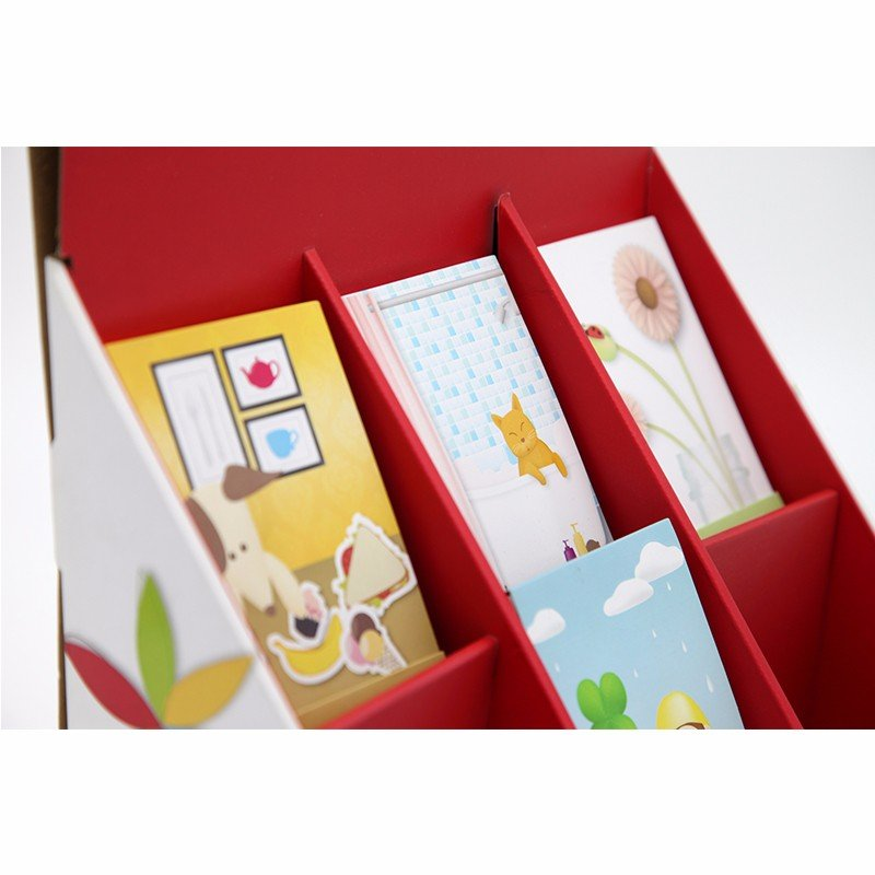 printed paper show box