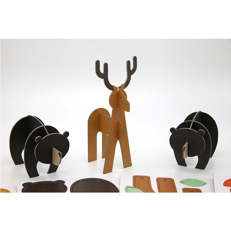 animal carton paper puzzles
