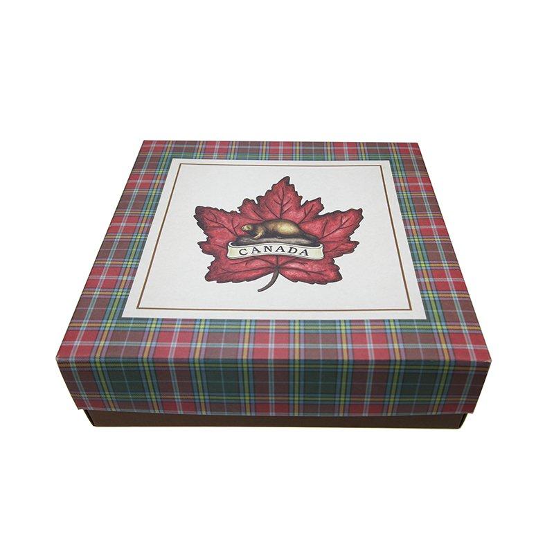 printed plain gift box