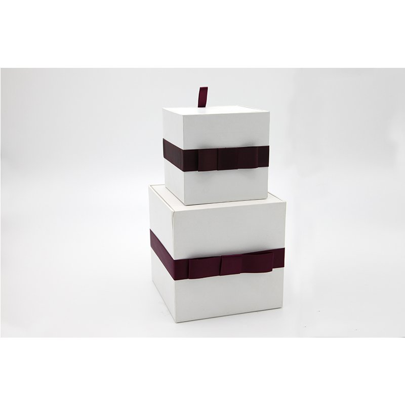 plain gift packaging box
